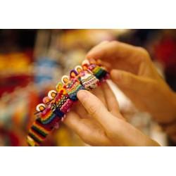 Serre-tête figurines boliviennes